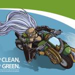Keep Clean, Keep Green Illustrator CS4